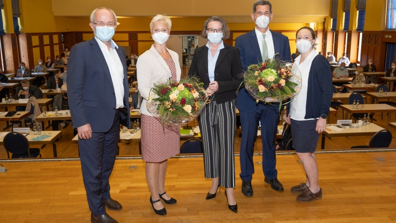 Erneute Nominierung von Anke Fuchs-Dreisbach und Jens Kamieth für den Landtag