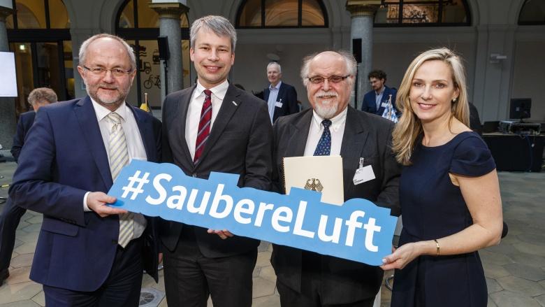 Der Bund fördert Maßnahmen für bessere Luft in Städten